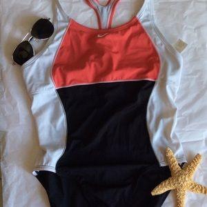 Nike One Piece Bathing Suit Size 12